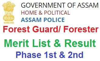 Assam Forest Guard Result 2020