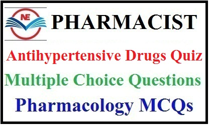 Antihypertensive Drugs Quiz 2020