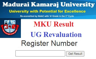 MKU Revaluation Results 2020