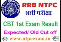 RRB Ajmer NTPC Result 2021